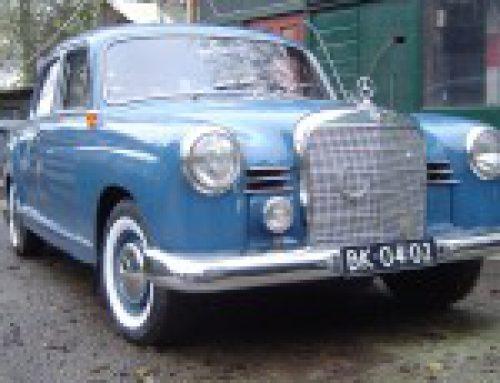 Mercedes-Benz 190, bouwjaar 1960