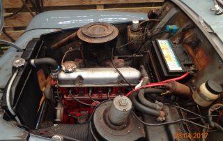 Volvo PV544 katterug motor